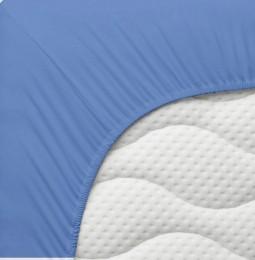 Kūdikio paklodė ALOE švelniai mėlyna PLAČIAU ČIA
