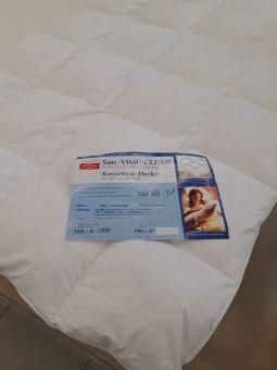 Antialerginė pūkinė antklodė                                          Daugiau informacijos rasite čia